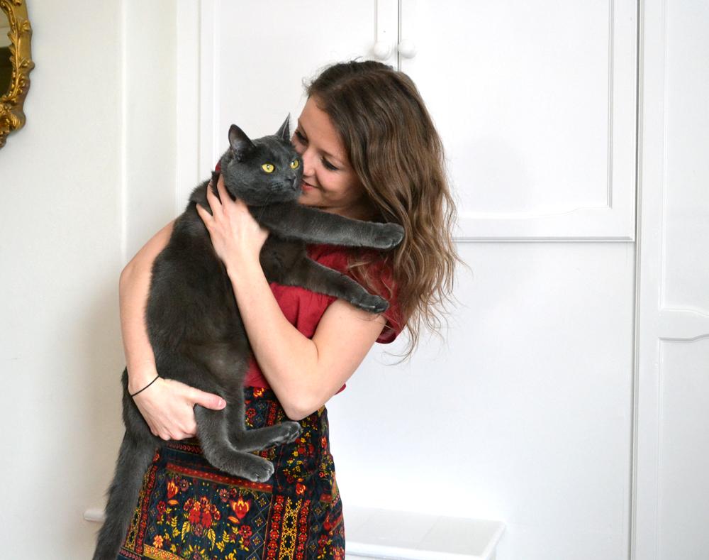 H&M-Skirt-Cat